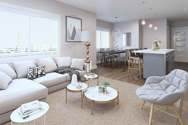 Nero - Living Room Render 600x400